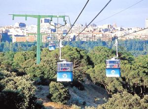 You dont need a NIE Number in Madrid to go on the cable car