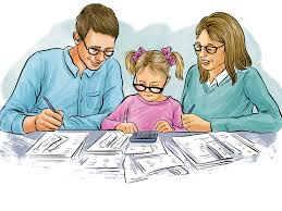 Child paying NIE Number tax with form 790