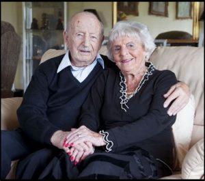 Married older couple get NIE NUMBER