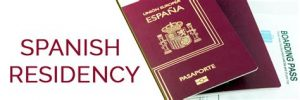what a spanish residency looks like if you have a nie number in spain