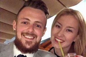 couple celebrate getting nie numbers in spain